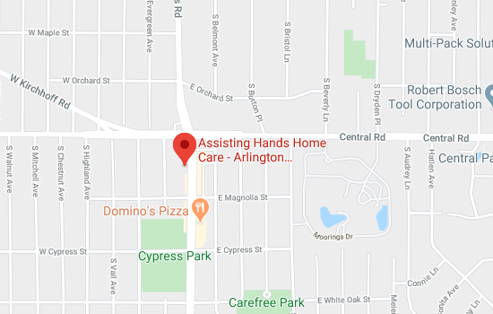 Assisting-Hands-Arlington-Heights-Location