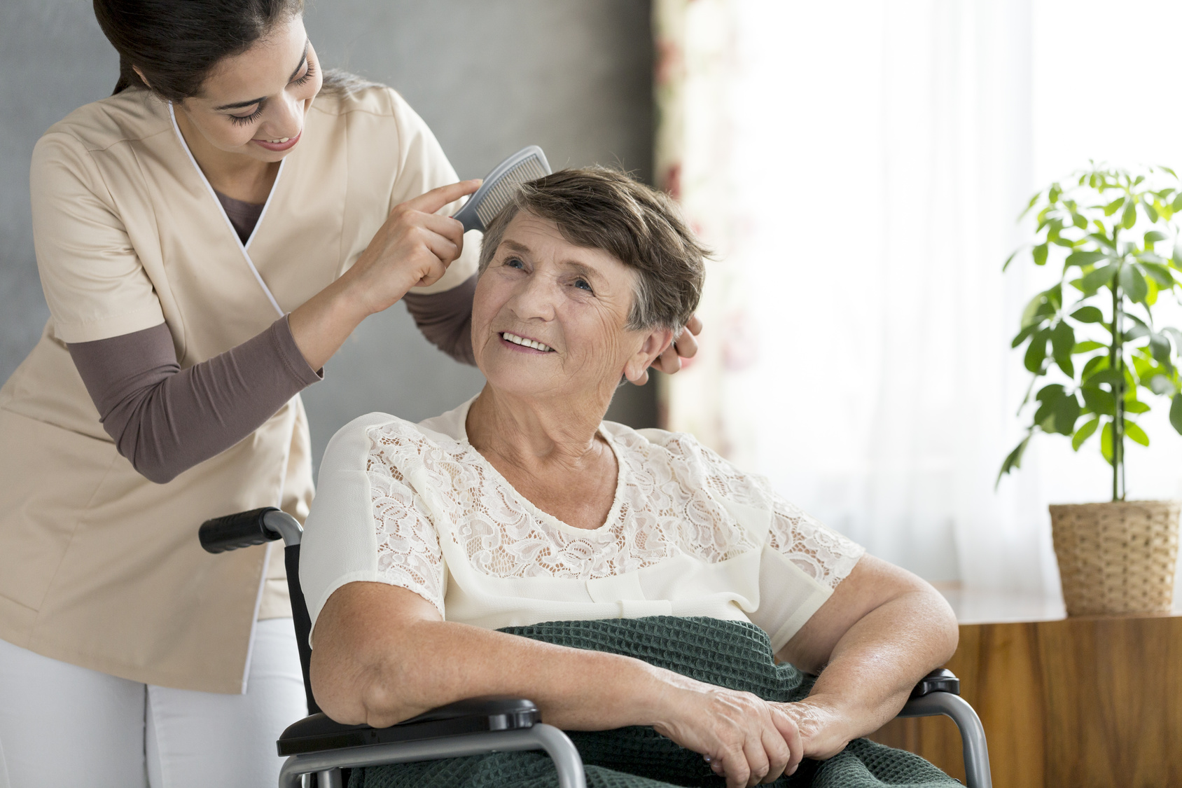 Care plan for dementia patient at home