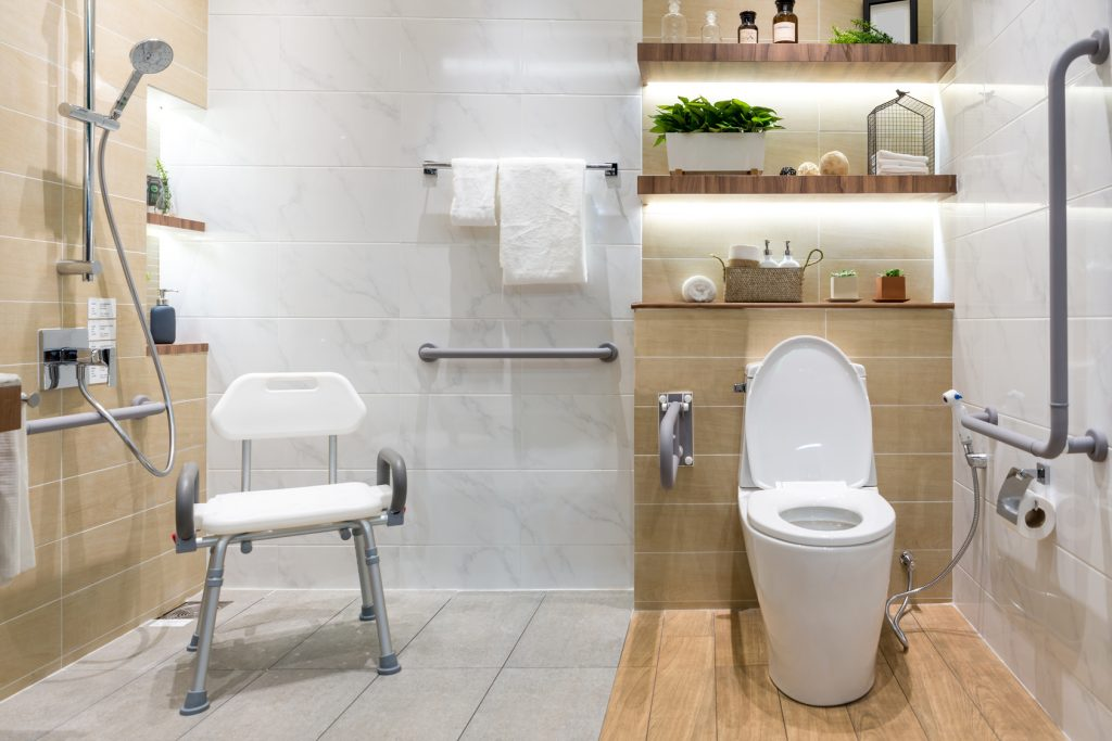 The Different Types of Shower Rails and Bathroom Grab Bars for the Elderly